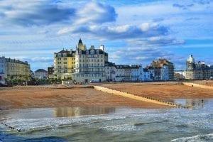 vacanza studio a Eastbourne paesaggio