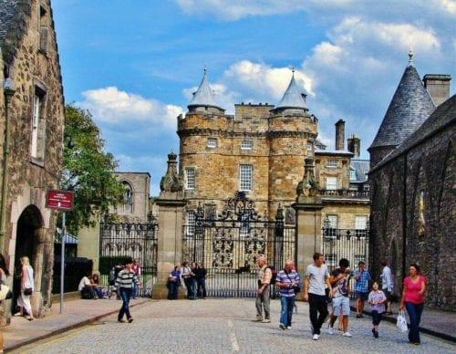 Edimburgo Holyroodhouse viva