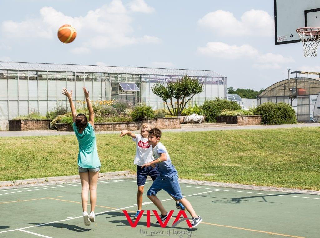 college camp sport viva